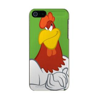 Coque iPhone 5 Incipio Feather® Shine Regard fixe malfaisant de la leghorn | de corne de