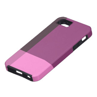 Coque iPhone 5 Jolis blocs de rose et de vin