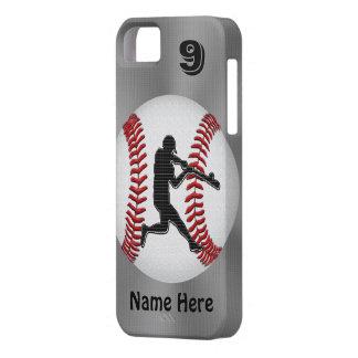 Coque iPhone 5 Le base-ball personnalisé d'iPhone enferme le