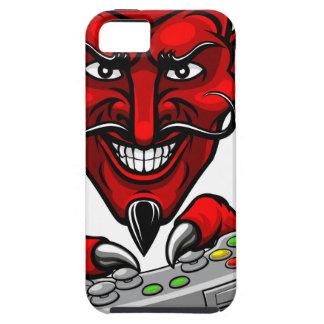 Coque iPhone 5 Le diable Esports folâtre la mascotte de Gamer