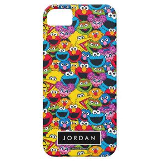 Coque iPhone 5 Le motif | d'équipage de Sesame Street ajoutent
