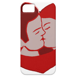 Coque iPhone 5 LOVE création louis RUNEMBERG Adagp