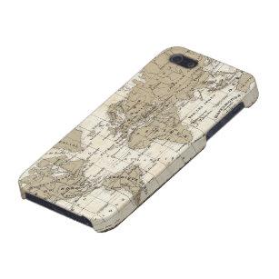 Coque iPhone 5 Mappemonde