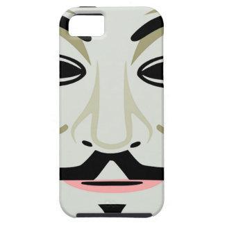 Coque iPhone 5 Masque anonyme