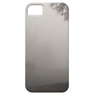 Coque iPhone 5 matin brumeux attendant sur la hausse du soleil