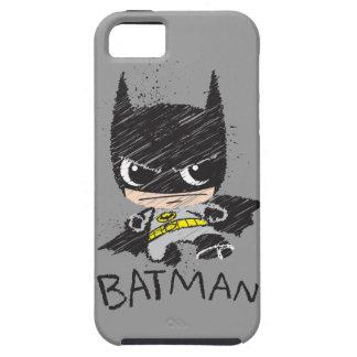 Coque iPhone 5 Mini croquis classique de Batman
