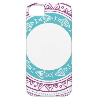Coque iPhone 5 Miscellaneous - Tribal Mandalas Patterns Eighteen