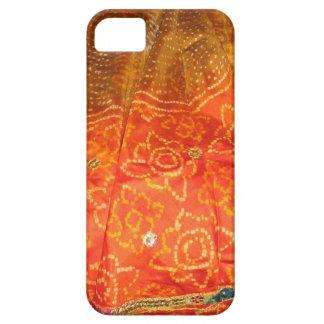 Coque iPhone 5 Mode vintage : Or d'impression de Jaipur avec le