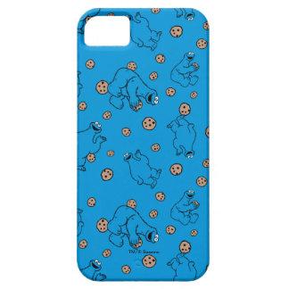Coque iPhone 5 Monstre de biscuit et motif bleu de biscuits