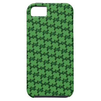 Coque iPhone 5 Motif de quatre feuilles