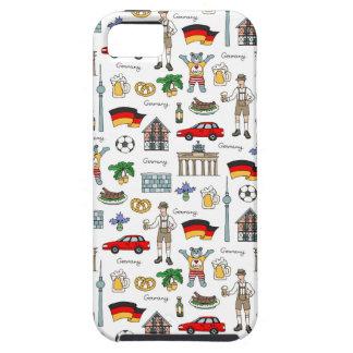 Coque iPhone 5 Motif de symboles de l'Allemagne |
