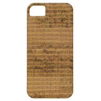 Coque iPhone 5 Musique de feuille vintage par Johann Sebastian