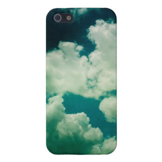 "Coque Iphone 5 ""Nuages"""