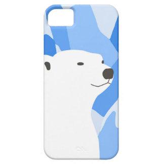 Coque iPhone 5 Ours blanc dans la conception froide