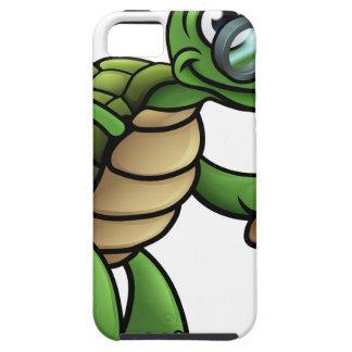 Coque iPhone 5 Personnage de dessin animé plus âgé de tortue