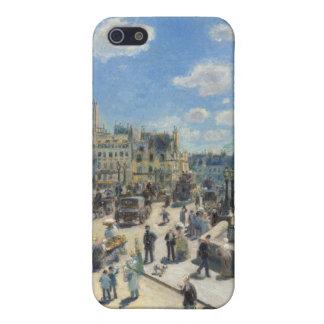 Coque iPhone 5 Pierre un Renoir | Pont Neuf, Paris