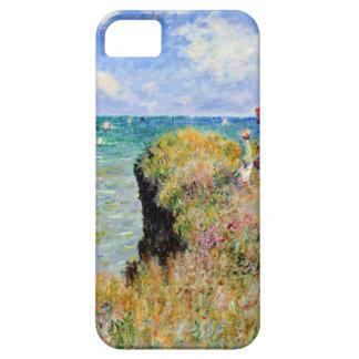 Coque iPhone 5 Promenade de Clifftop chez Pourville - Claude