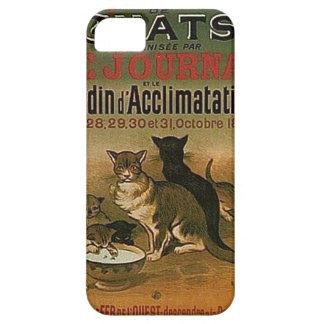 Coque iPhone 5 Publicité française vintage - chats