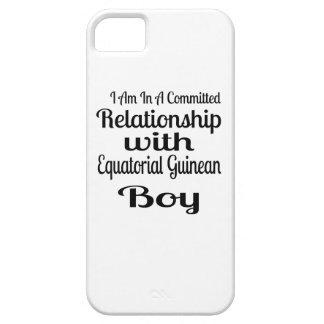 Coque iPhone 5 Rapport avec le garçon guinéen équatorial