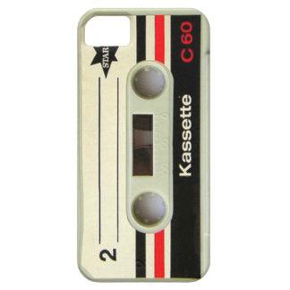 Coque iPhone 5 Rétro enregistreur à cassettes de cassette