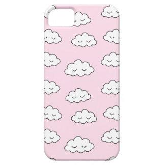 Coque iPhone 5 Rêver des nuages dans le rose
