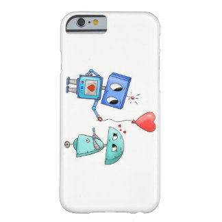 Coque Iphone 5 ''Robots in Love''