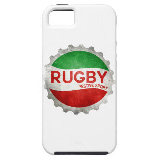 Coque iPhone 5 rugby basque festive sport