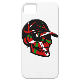 Coque iPhone 5 Skull surfeur Basque