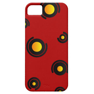 """Coque iPhone 5 """"Sphéris"""" - Rouge"""