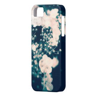 Coque Iphone 5 sur fond de fleurs
