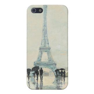 Coque iPhone 5 Tour Eiffel | Paris sous la pluie