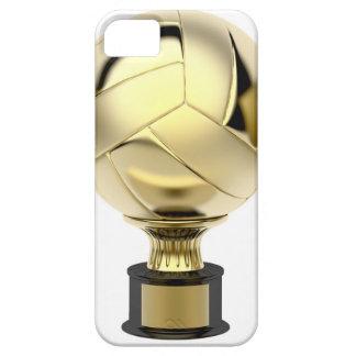 Coque iPhone 5 Trophée de volleyball d'or