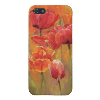 Coque iPhone 5 Tulipes au milieu