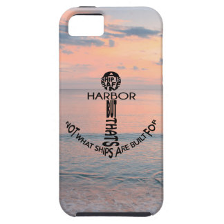 Coque iPhone 5 Typographie d'ancre