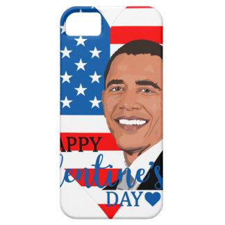 Coque iPhone 5 valentine de Barack Obama