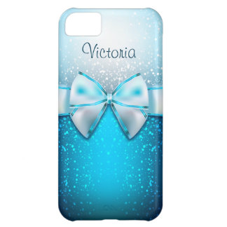 Coque iPhone 5C Caisse bleue Girly de l'iPhone 5C de vacances de