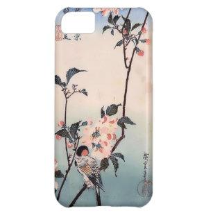 Coque iPhone 5C Copie de Japonais de fleurs de cerisier de pinson