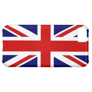 Coque iPhone 5C Drapeau classique du Royaume-Uni