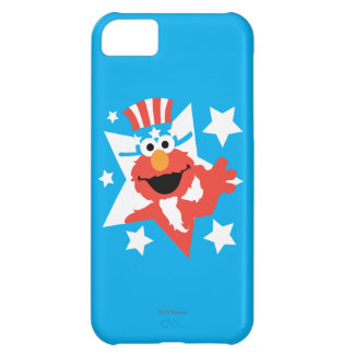 Coque iPhone 5C Elmo comme Oncle Sam