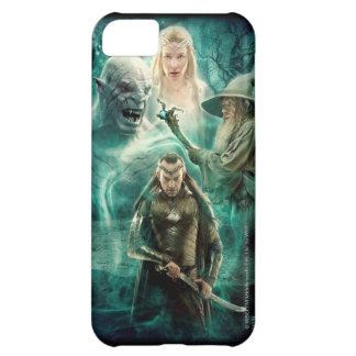 Coque iPhone 5C ELROND™, Azog, Galadriel, et graphique de Gandalf