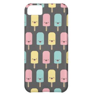 Coque iPhone 5C Esquimaux heureux de Kawaii d'amusement