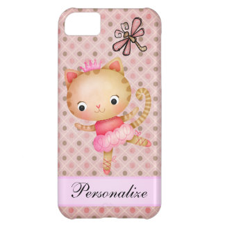 Coque iPhone 5C iPhone 5 de princesse Kitty Ballerina et de