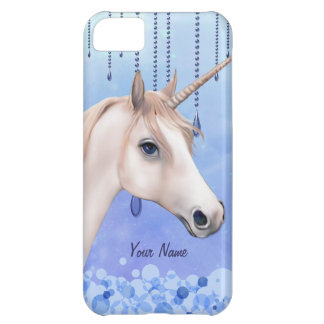 Coque iPhone 5C La licorne rêve l'iPhone 5 d'imaginaire