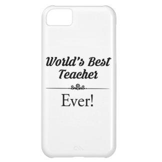 Coque iPhone 5C Le meilleur professeur du monde jamais