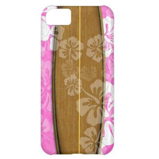 Coque iPhone 5C Panneau de surf de PixDezines+arrière - plan de la