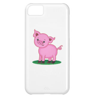 Coque iPhone 5C Petit cas mignon de l'iPhone 5C de porc