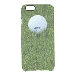 Coque iPhone 6/6S Boule de golf dans le rugueux personnalisée