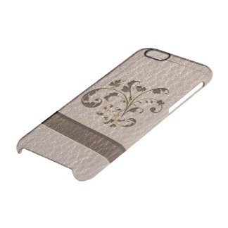 Coque iPhone 6/6S Bouquet simili cuir 2 mou