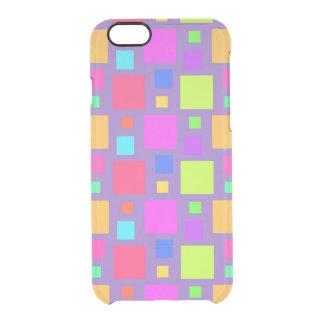 Coque iPhone 6/6S Carrés multicolores 2011