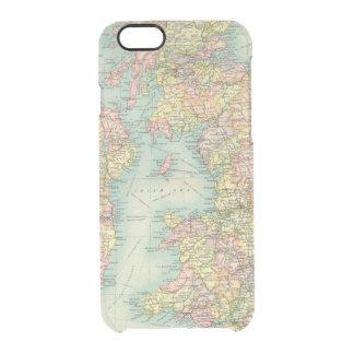 Coque iPhone 6/6S Carte politique d'îles britanniques